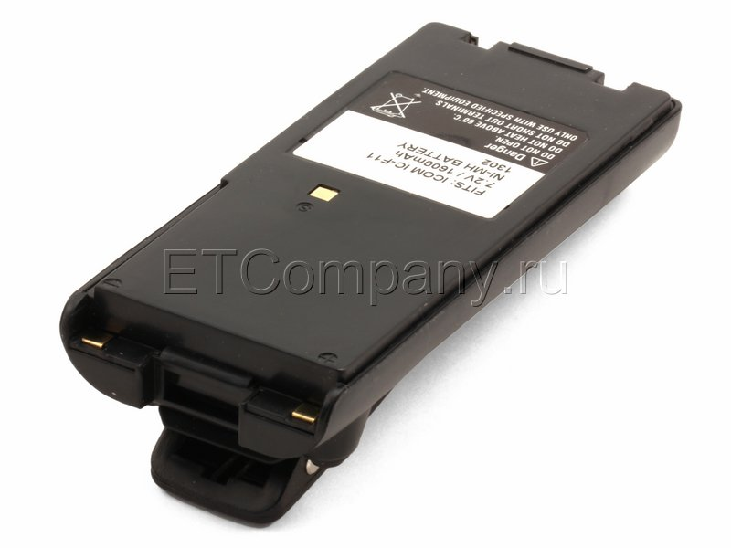 Аккумулятор для радиостанции Icom BP-209, BP-210N, BP-222N