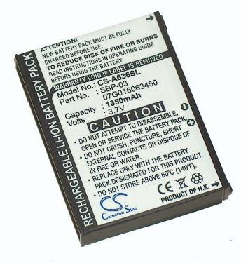 Аккумулятор для Asus MyPal A630, A632, A635, A636, A639