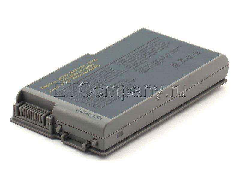 Аккумулятор для Dell Latitude D500, D505, D510, D520, D530