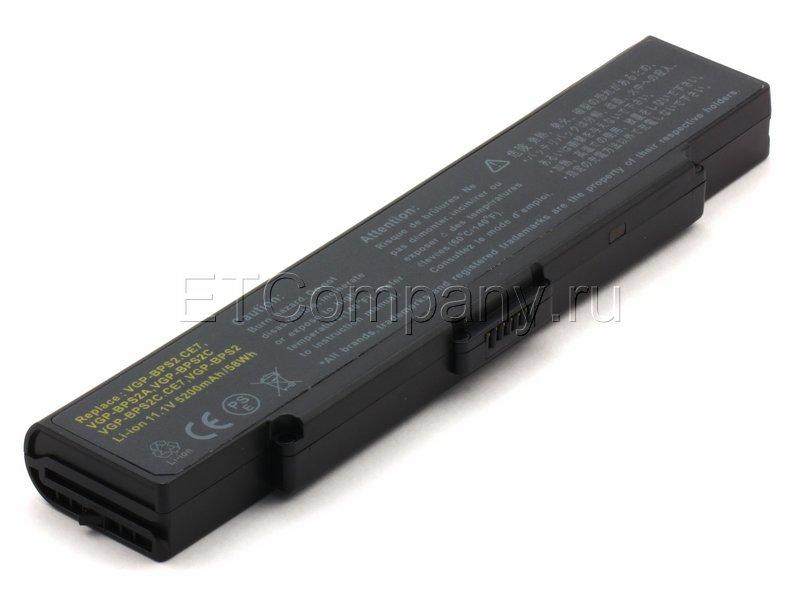 Аккумулятор для Sony Vaio PCG-6C, PCG-6P черный