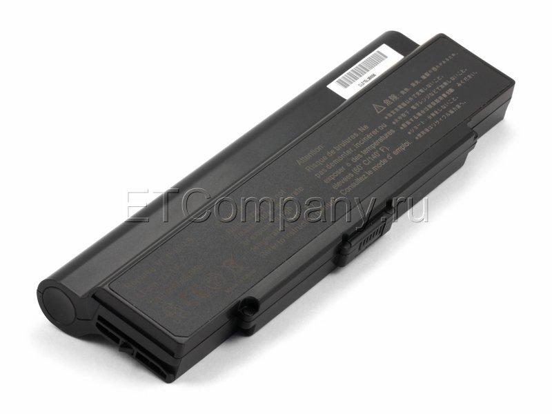 Аккумулятор для Sony Vaio VGN-AR61, VGN-AR64, VGN-AR65, VGN-AR68 усиленный черный