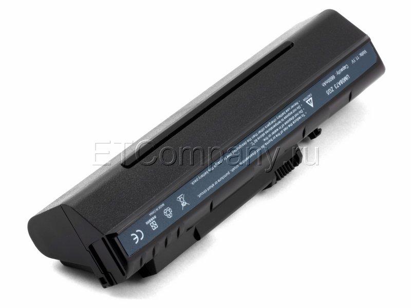 """Аккумулятор для Acer Aspire One 8.9"""" усиленный, черный"""