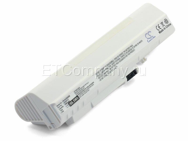Аккумулятор для Acer Aspire One A110, A150 усиленный, белый
