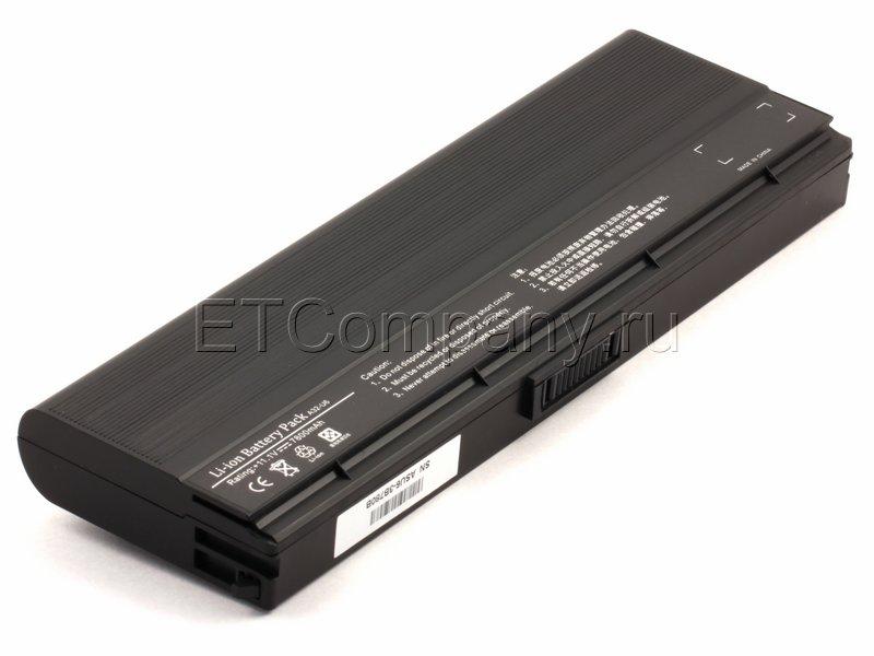 Аккумулятор для Asus N20 усиленный, черный
