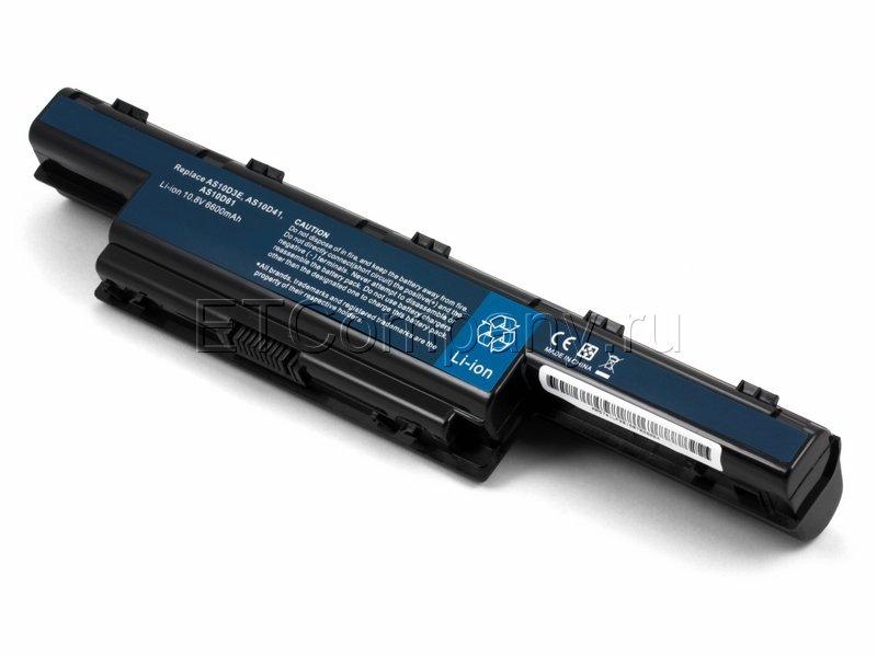 Аккумулятор для Acer TravelMate 4740, 5335, 5542, 5735 серии, черный