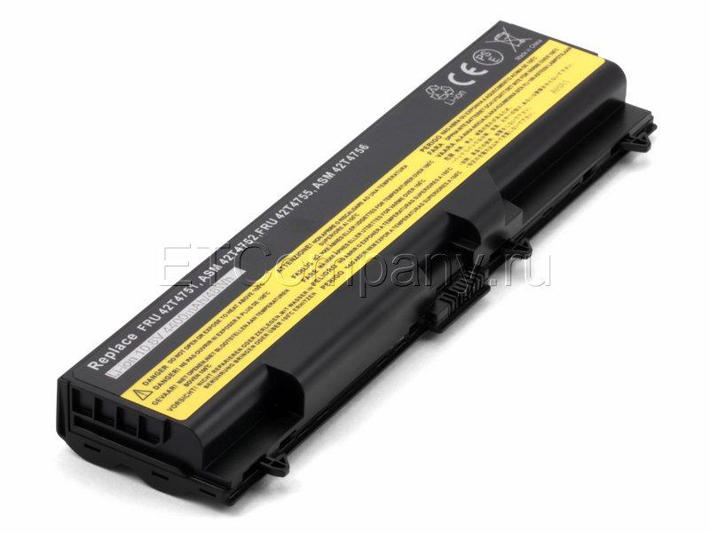 Аккумулятор для Lenovo ThinkPad SL410