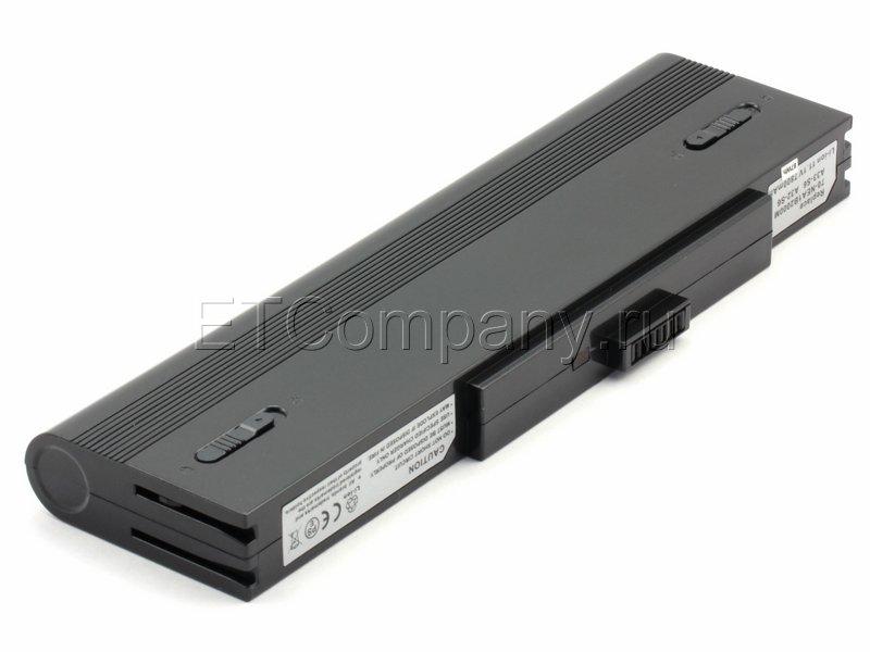 Аккумулятор для Asus S6F серии, черный