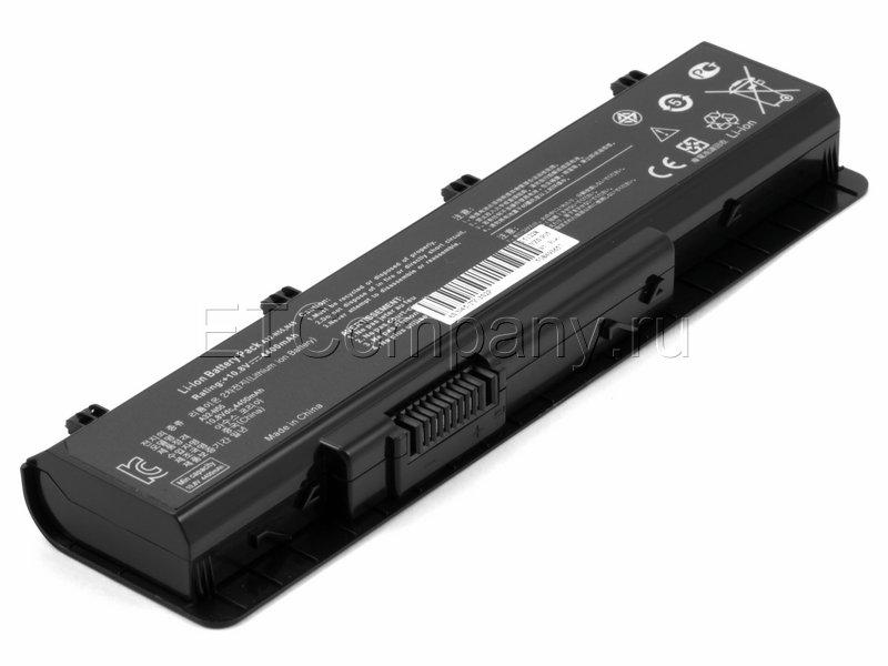 Аккумулятор для Asus N45, N55, N75 серии, черный