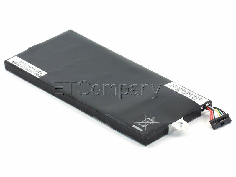 Аккумулятор для Asus Eee PC T91 серии, черный