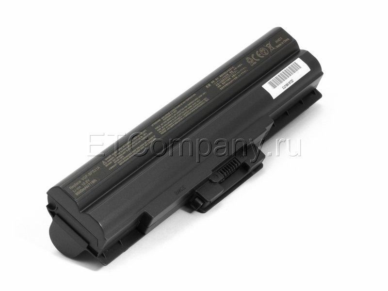 Аккумулятор для Sony Vaio VPC-CW усиленный черный