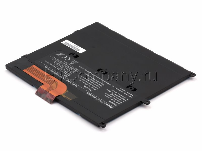 Аккумулятор для Dell Latitude 13, черный