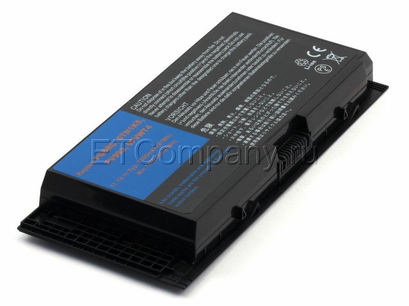 Аккумулятор для Dell Precision M6600, M6700, M6800. серии усиленный, черный
