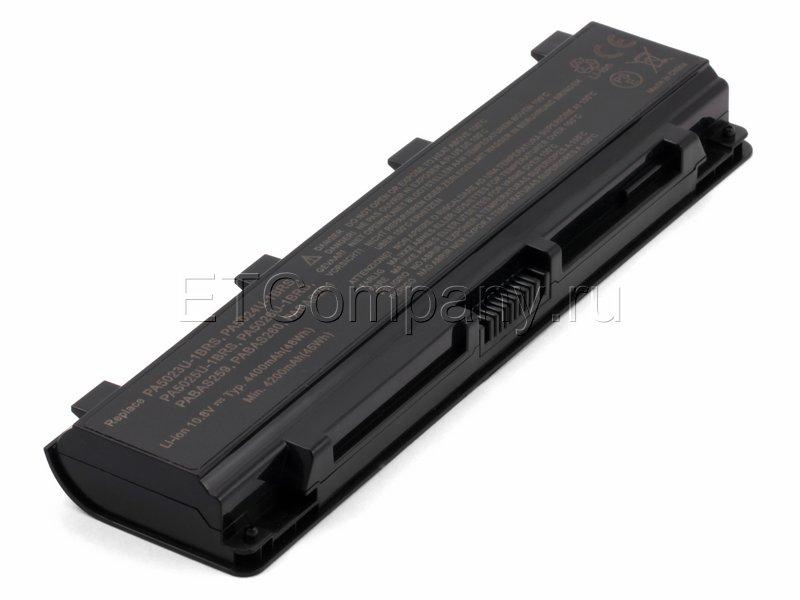 Аккумулятор для Toshiba Satellite M840, P70, P75, P840 серии, черный