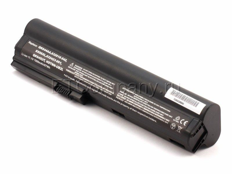 Аккумулятор для HP EliteBook 2560p, 2570p серии усиленный, черный