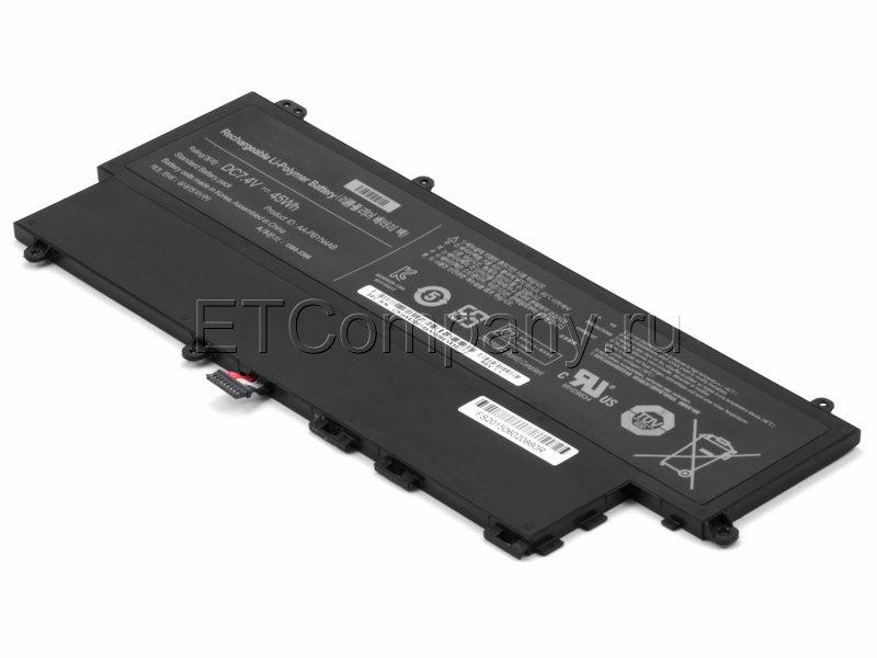 Аккумулятор для Samsung (NP)530U3B, 530U3C, 535U3C серии, черный