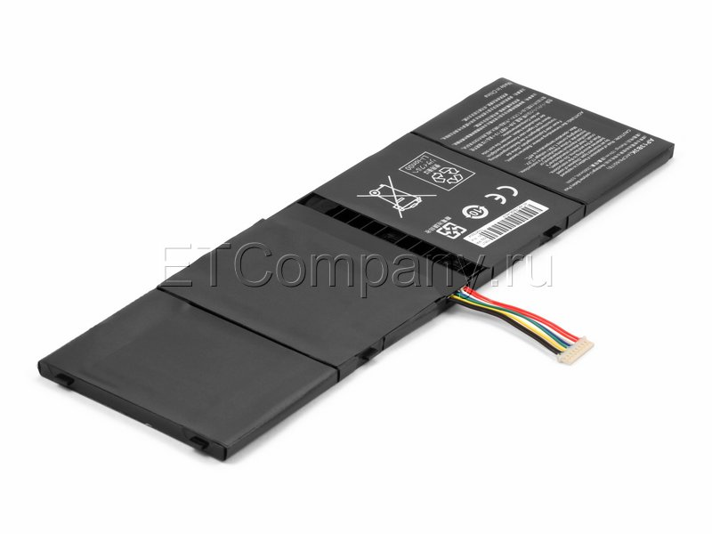 Аккумулятор для Acer Aspire V7-481, V7-482 серии, черный