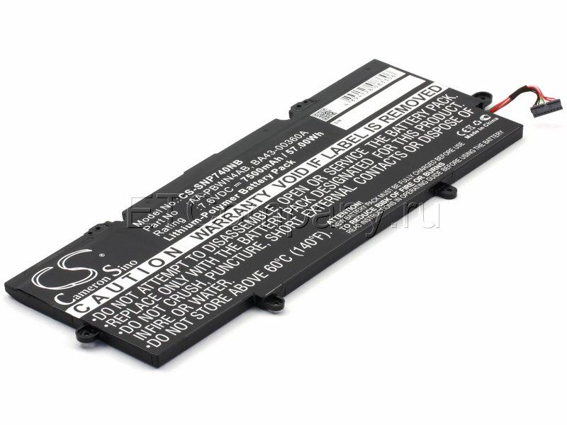 Аккумулятор для Samsung (NP)540U4E, 740U3E серии, черный