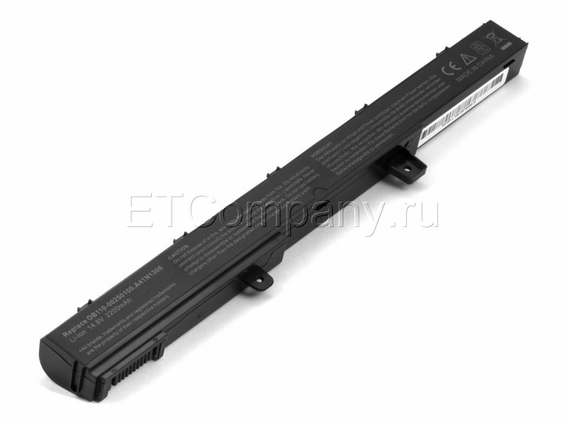 Аккумулятор для Asus D550, F551, X451, X551 , черный