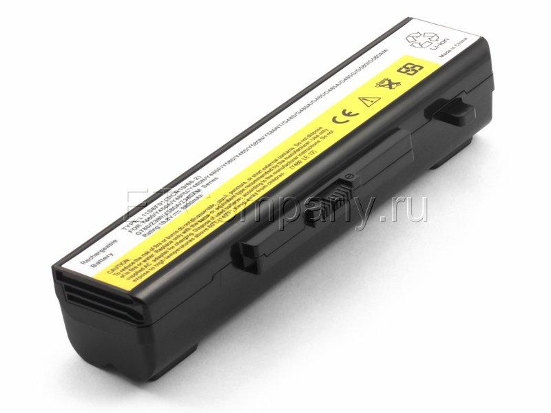 Аккумулятор для Lenovo B480, B485, B490, B580, B585 серии усиленный, черный