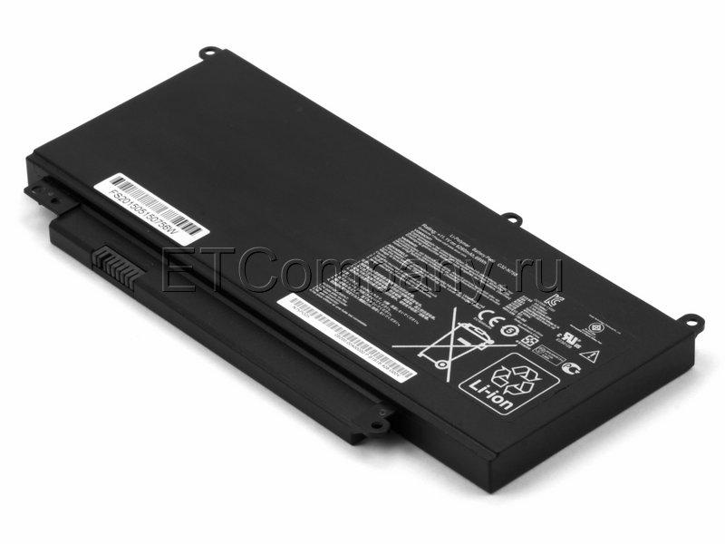 Аккумулятор для Asus N750JK, N750JV, черный