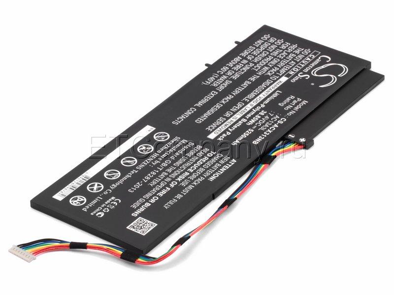 Аккумулятор для Acer Aspire P3-171, черный