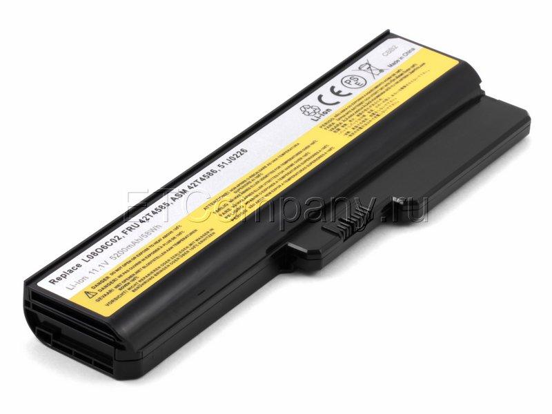 Аккумулятор для Lenovo G430, G450, G455, черный