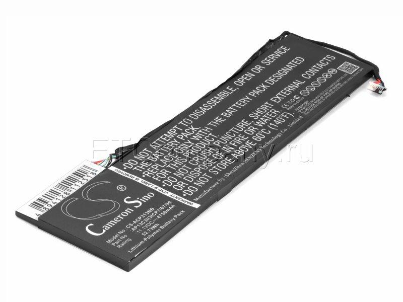Аккумулятор для Acer Aspire P3-131, черный