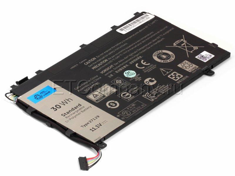 Аккумулятор для Dell Latitude 13 7350 серии, черный