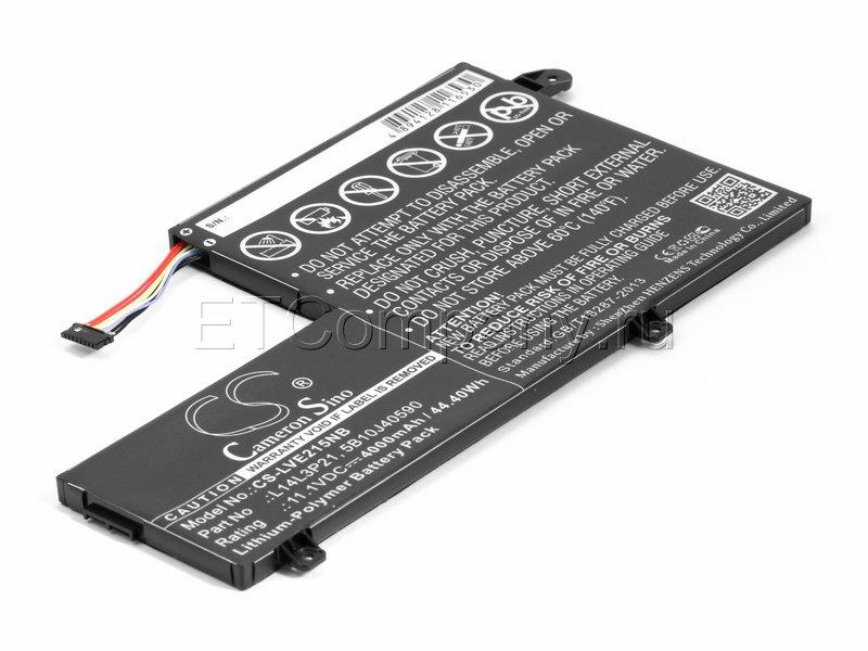 Аккумулятор для Lenovo IdeaPad 500S-14ISK, чёрный