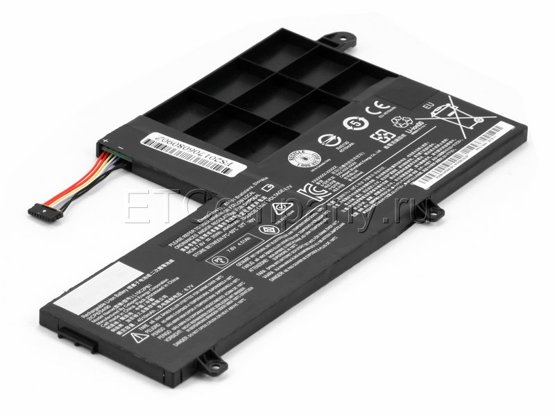 Аккумулятор для Lenovo IdeaPad Yoga 510-14ISK, 510-15ISK серии, черный