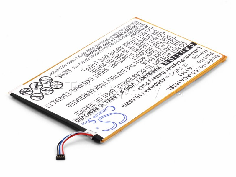 Аккумулятор для Acer Iconia Tab 8 (A1-830)