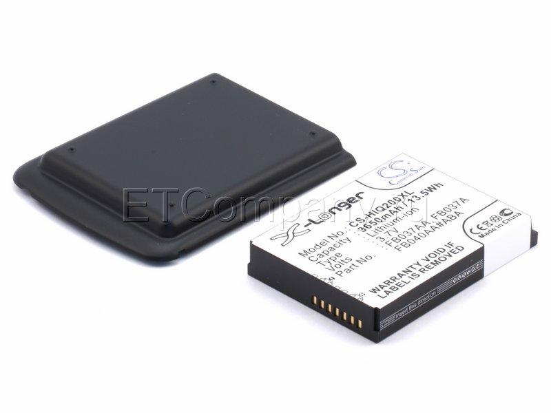 Аккумулятор для HP iPAQ 200, 210, 211, 212, 214, 216 усиленный