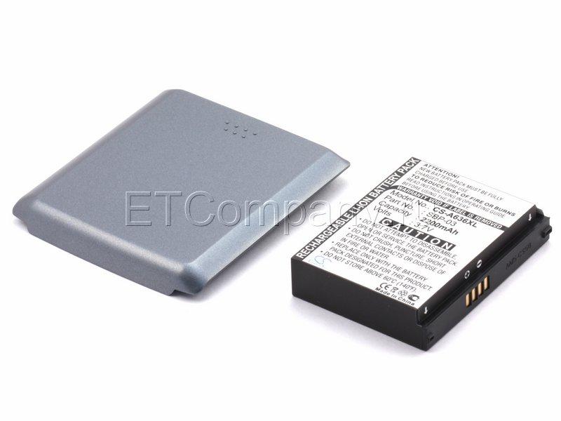 Аккумулятор для Asus MyPal A630, A632, A635, A636, A639 усиленный