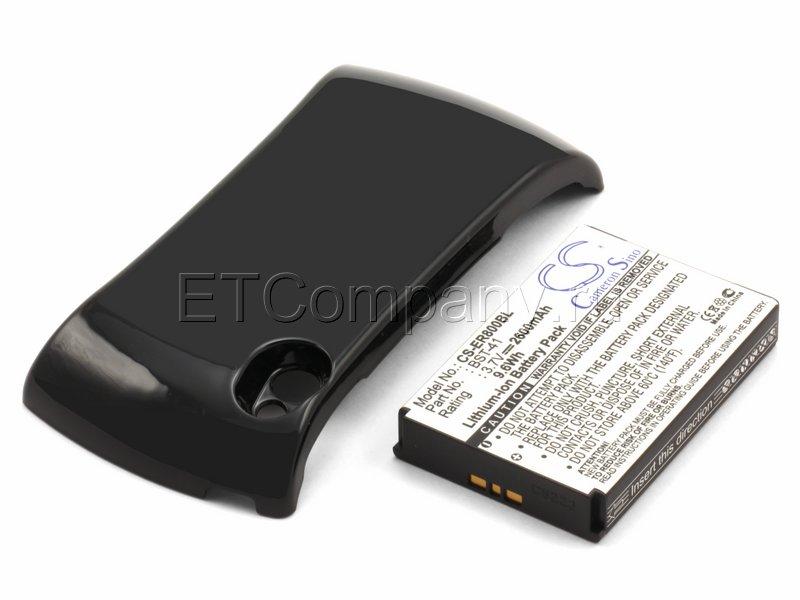 Аккумулятор для Sony Ericsson Xperia Play R800i усиленный (чёрная крышка)