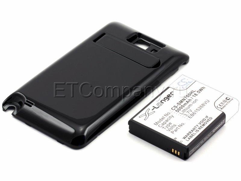 Аккумулятор для Samsung Galaxy Note i9220 усиленный (чёрная крышка)