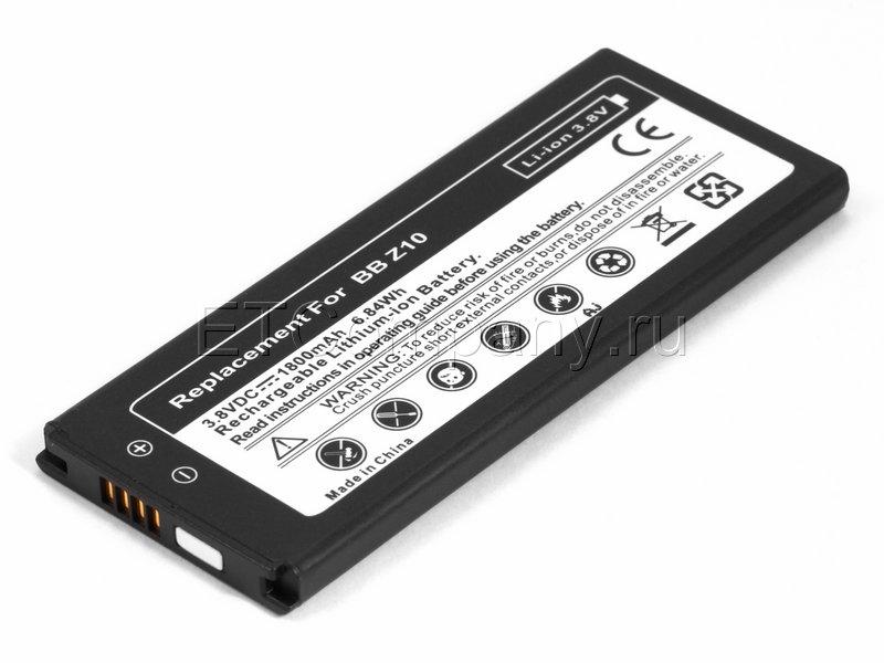 Аккумулятор для Blackberry Z10, черный