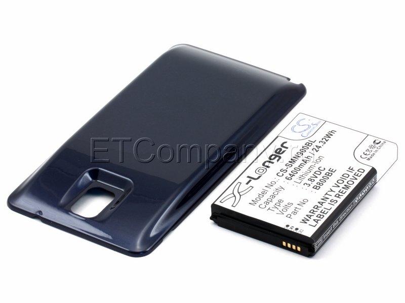 Аккумулятор для Samsung Galaxy Note 3, синий, усиленный