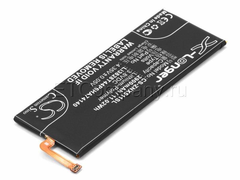 Аккумулятор для ZTE Nubia Z9, черный
