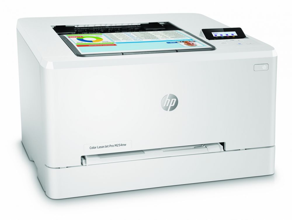 Принтер лазерный HP Color LaserJet Pro M254nw (T6B59A) A4 Net WiFi