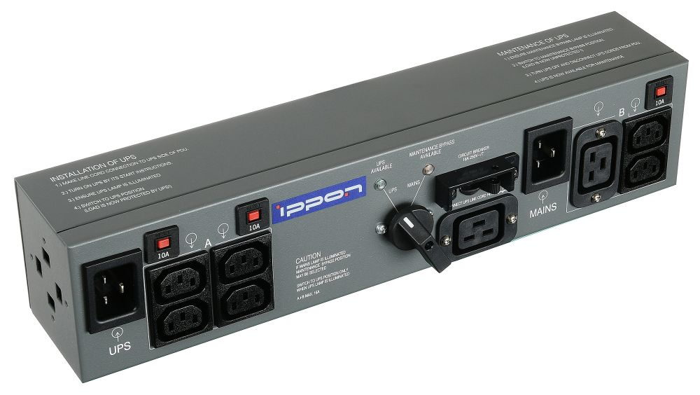Байпас Ippon BP PDU16 (1000795) IEC 10A