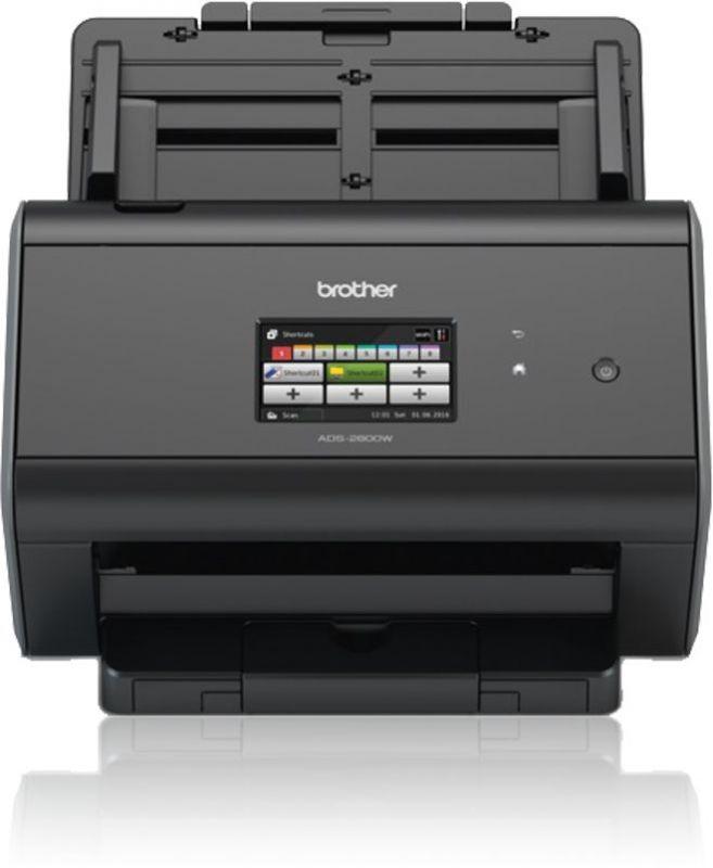Сканер Brother ADS2800W (ADS2800WUX1) A4 черный