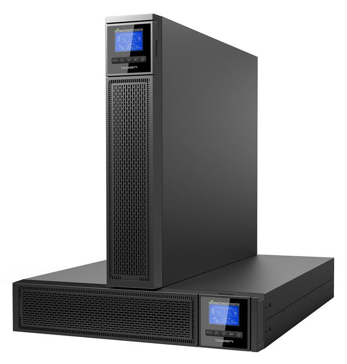 ИБП Ippon Innova RT II 10000 10000Вт 10000ВА черный