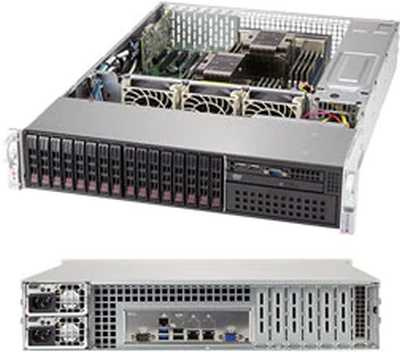 Платформа SuperMicro SYS-2029P-C1RT LSI3108 10G 2P 2x1200W