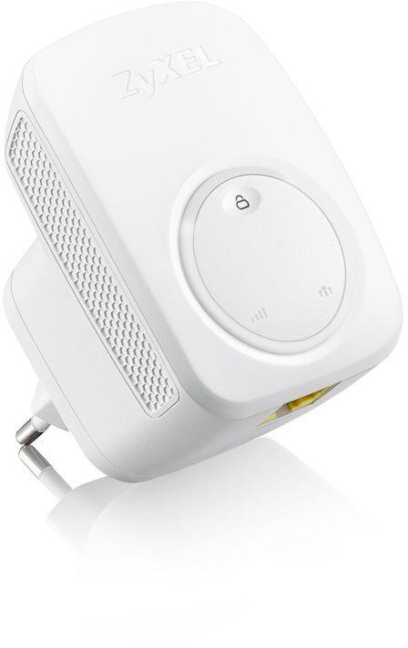 Повторитель беспроводного сигнала Zyxel WRE2206 (WRE2206-EU0101F) N300 Wi-Fi белый