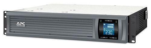 ИБП APC Smart-UPS C SMC2000I-2URS 1300Вт 2000ВА серый