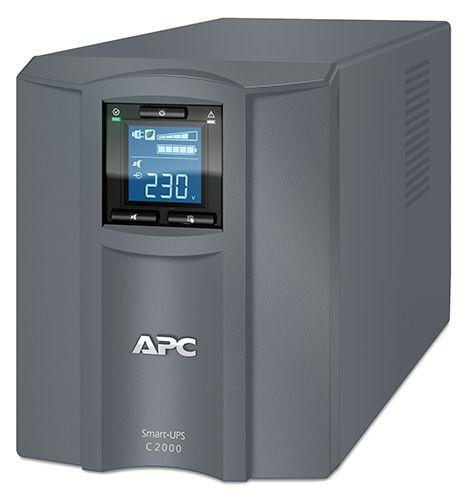 ИБП APC Smart-UPS C SMC2000I-RS 1300Вт 2000ВА серый