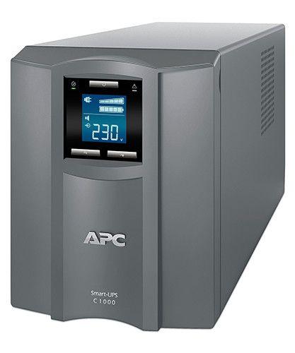 ИБП APC Smart-UPS C SMC1000I-RS 600Вт 1000ВА серый