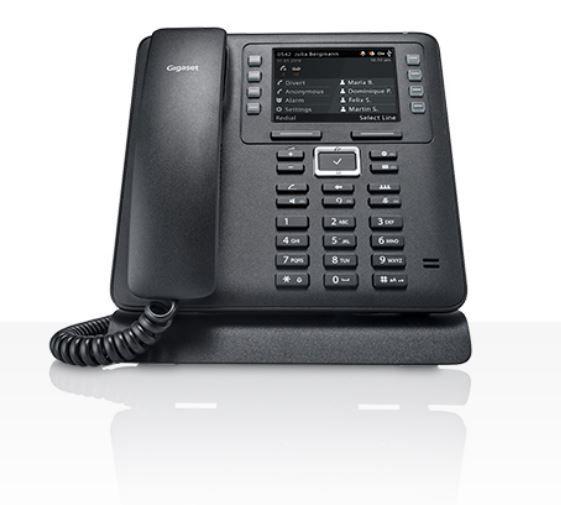 Телефон IP Gigaset Maxwell 3 черный (S30853-H4003-S301)
