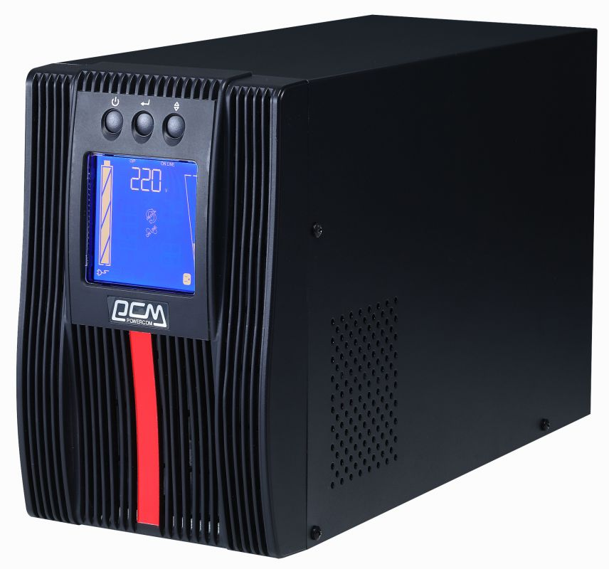 ИБП Powercom Macan MAC-3000 3000Вт 3000ВА черный