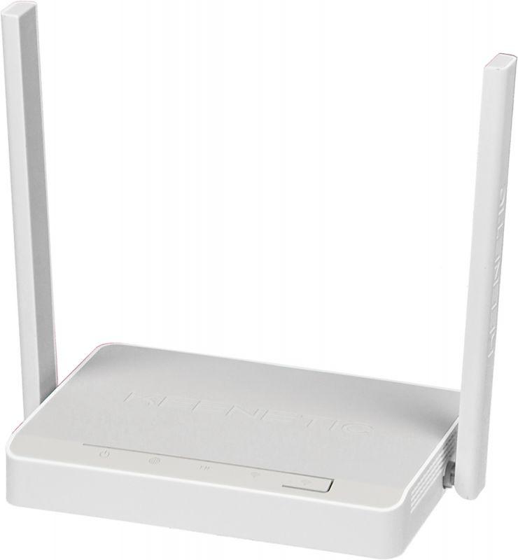 Роутер беспроводной Keenetic Omni N300 10/100BASE-TX/4G ready белый